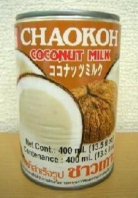ココナッツミルク(缶入り) 400ml