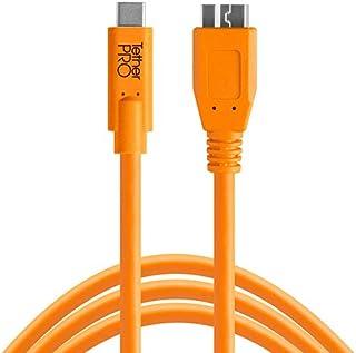 Tether Tools TetherPro USB-C to 3.0 Micro-B - Bağlantı Kablosu 15' (4.6m) DSLR Kamera, Turuncu