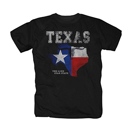 pro-Camicia Texas Lone Star State - T-Shirt (5XL)