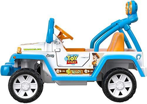 Power Wheels Disney/Pixar Toy Story Jeep Wrangler