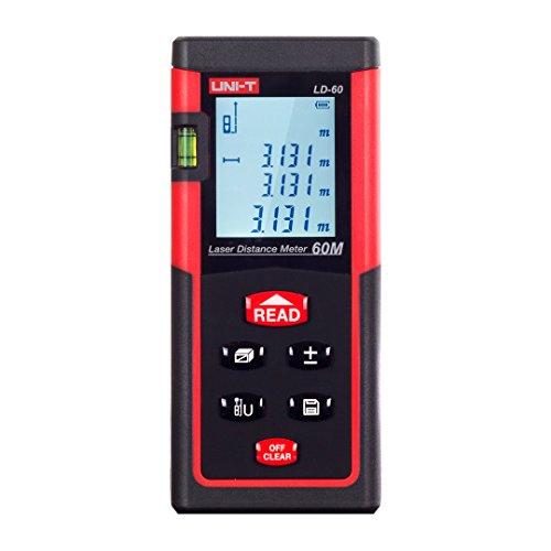 UNI-T LD40 Digital Laser Distance Meter 40 Meters 131 feet Range...
