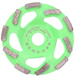 PRODIAMANT Disco a tazza diamantato per calcestruzzo Turbo 125 mm x 22,23 mm Disco a tazza diamantato da 125 mm adatto a smerigliatrice angolare