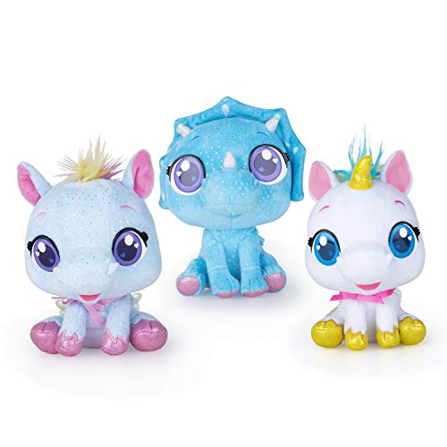 Cry Babies Plush Pets, Pack 3: Rym, Tini and Nila