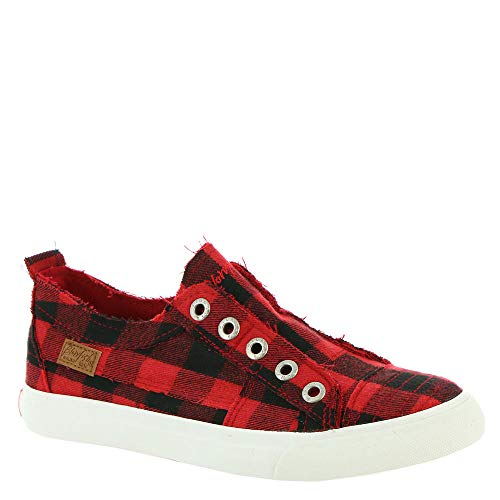 Red Canvas Shoes Girls