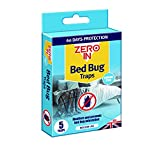 Zero In ZER967 Bed Bug Traps, Poison-Free Treatment, Bed Bug Detector and Killer, 2 Months Protection (Pack of 3), Multi, 14.5 cm*2.4 cm*8.6 cm