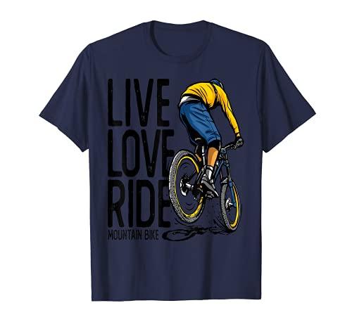 MTB Mountain Bike BMX Rennrad Fahrrad Downhill Mountainbike T-Shirt
