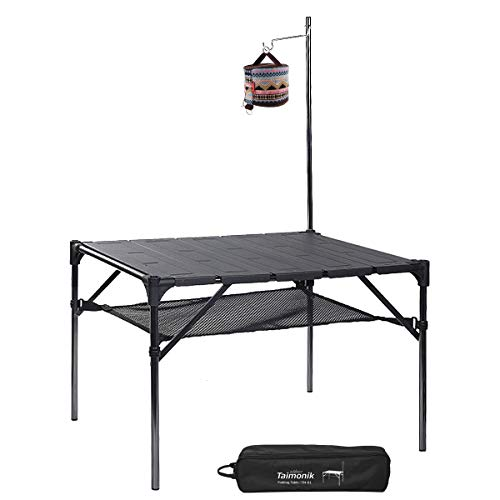 折り畳み式テーブル アウトドア アルミ製 テーブル キャンプ用 超軽量材質 無限拡大可能 収納ケース付き テ...