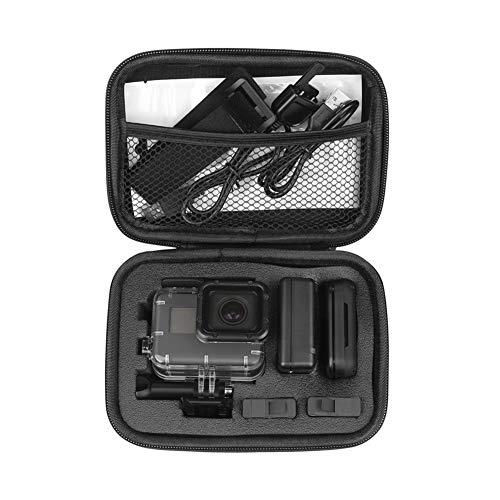 XUSUYUNCHUANG Portátil de pequeño EVA acción de la cámara del Caso for GoPro héroe 8 7 6 5 Negro for Xiaomi Yi 4K for Sjcam Sj4000 for Eken H9R Caja de Accesorios (Colour : Black Color)