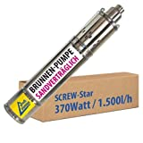 Bomba Sumergible para POZOS Profundos - Bomba DE Agua Sumergible Screw-Star 370-4