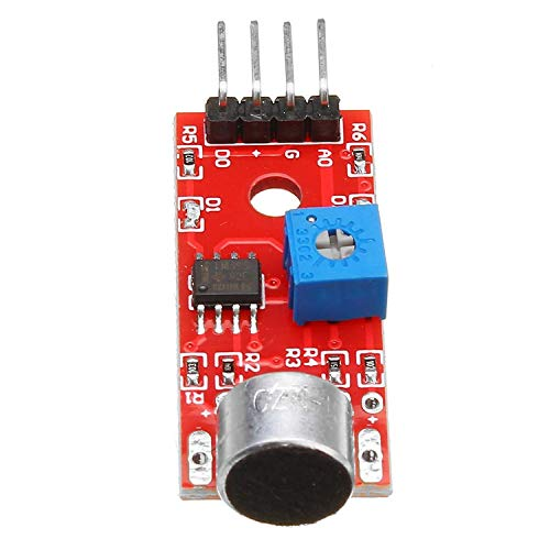 5V KY-037 Hoge Gevoeligheid Microfoon Sensor Module, Voice Detection Sensor Module Microfoon Compatibel Motorfiets Deel