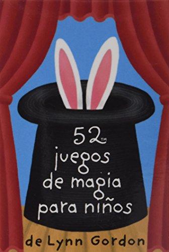 52 juegos de magia para niños (BARAJA)