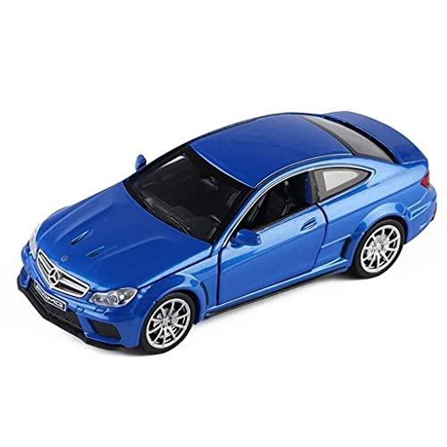 min min 1:32 Waage-Automodell/kompatibel mit Mercedes-Benz C63 AMG/Sedan-Erwachsenen-Simulation-Legierung...