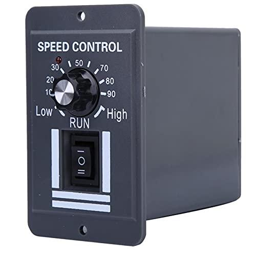 YUNJINGCHENMAN Controlador de Velocidad del Motor DC 12-60V 40A PWM Cepillo Regulador de Velocidad del Motor CW CCW CCW Interruptor Reversible Gobernador del Motor