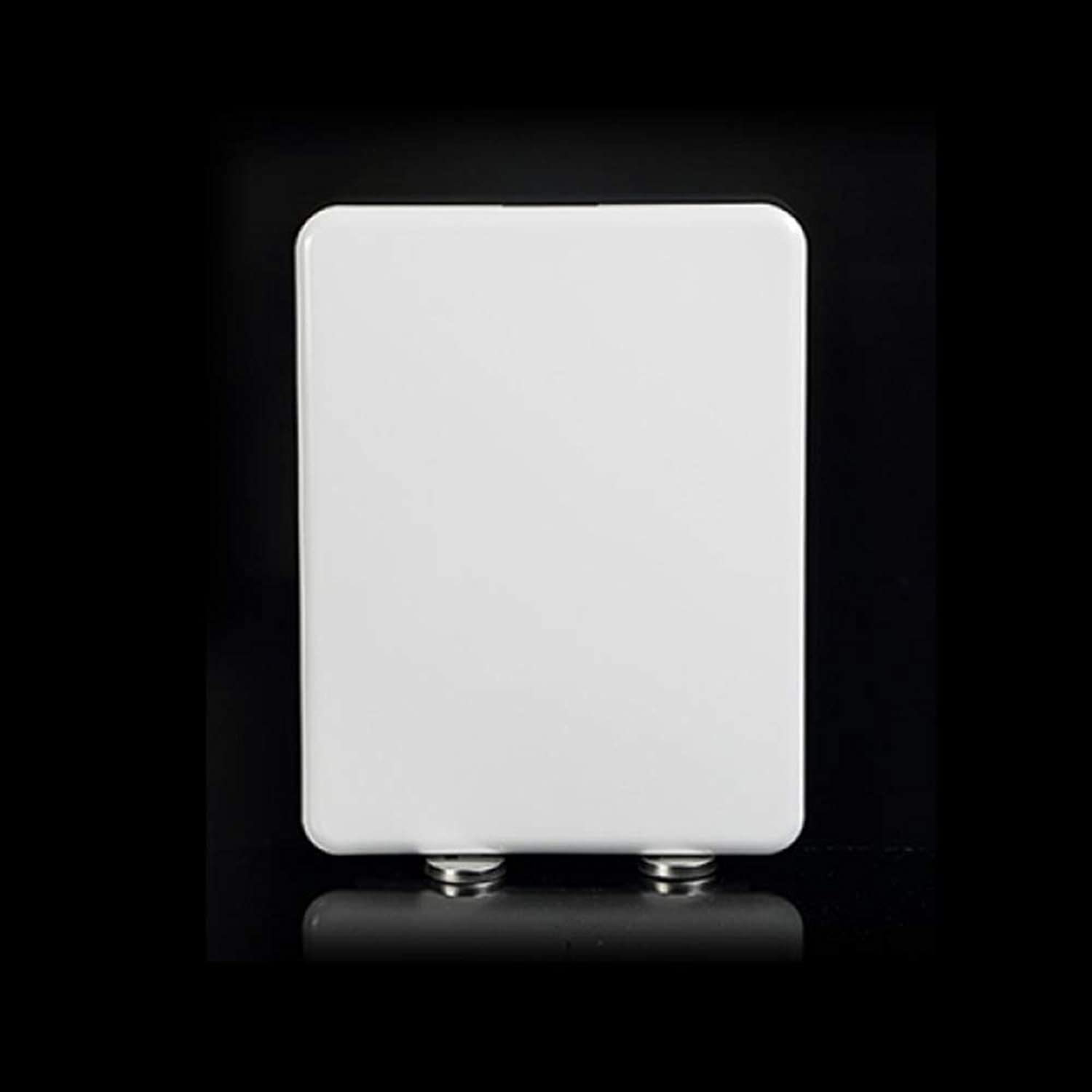 LBRVICTRY Luxury White Square Toilet Seat With Soft Seal And Quick Release Hinge For Family,White-Square