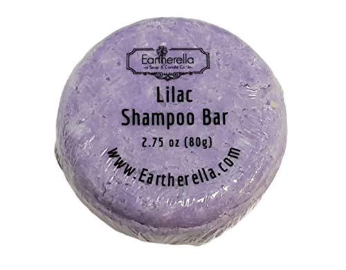 LILAC Shampoo Bar, 2.75 oz, 80g Lots of LATHER