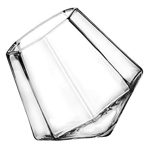 ThumbsUp! SO-DIASHT4 Diamond Shot Gläser (4er Set), durchsichtig