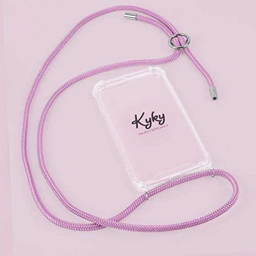 Pretty in roze - mobiele telefoon ketting iPhone 7/8, Stunning Silver