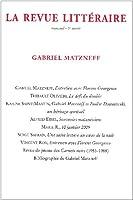 La Revue Litteraire T.39; Gabriel Matzneff