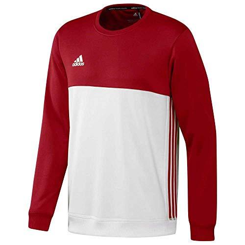 adidas Herren T16 Team Pullover, Rot/Weiß, M