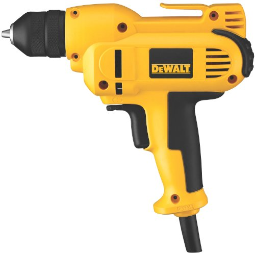 DEWALT Corded Drill, 8.0-Amp, 3/8-Inch, Variable Speed...