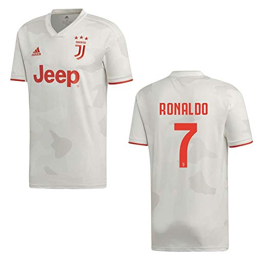 adidas Fußball Juventus Turin FC Away Trikot 2019 2020 Auswärtstrikot Herren Ronaldo 7 Gr XXL