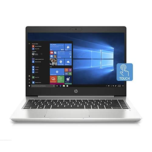 HP - PC ProBook 440 G7 Notebook, Intel Core i7-10510U, RAM 8 GB, SSD 512, NVIDIA GeForce MX250 2 GB, Windows 10 Pro, Schermo Touch 14