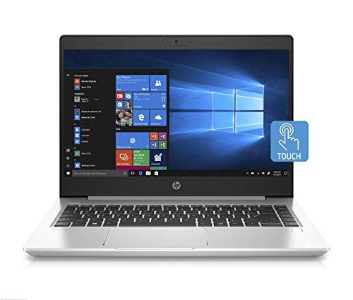 HP - PC ProBook 440 G7 Notebook, Intel Core i7-10510U, RAM 8 GB, SSD 512, NVIDIA GeForce MX250 2 GB, Windows 10 Pro, Schermo Touch 14' FHD IPS, Lettore Impronte Digitali, USB-C, HDMI, Webcam, Argento