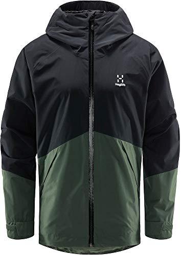 Haglöfs Skuta Jacket Men, S, True Black/fjell Green 4JA