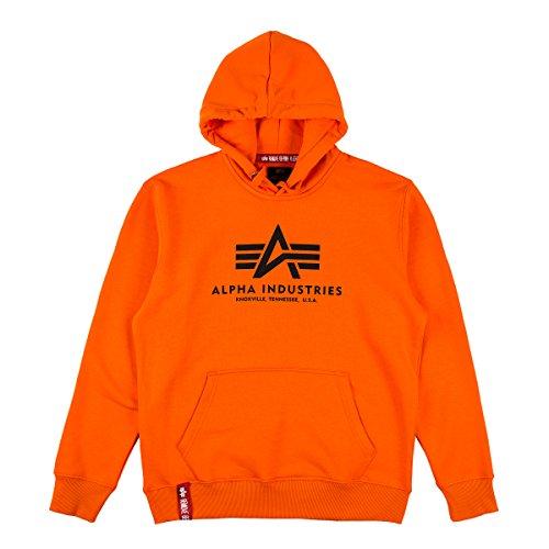 Alpha Hoody Basic Flame Orange Größe: M Farbe: Red