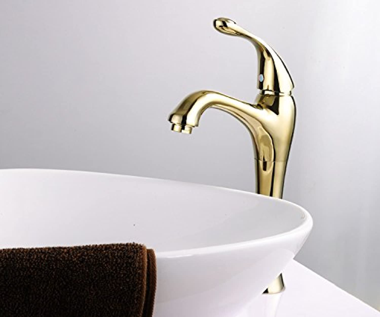 U-Enjoy Klassische Einhand-Top-Qualitt 2Kg Direct Selling-Hahn-Hahn-Hahn-Bathrom Griffe Beightening Kalt- Und Warmwasser [Kostenloser Versand]