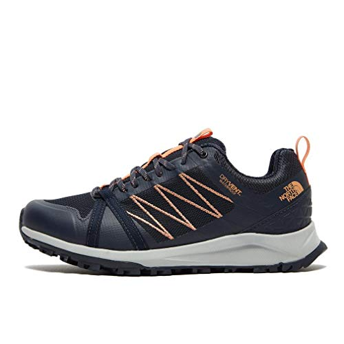THE NORTH FACE Litewave Fastpack II WP Schuhe Damen urban Navy/cantloupe Schuhgröße US 10 | EU 41 2020