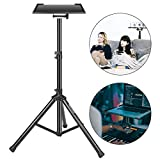 Neewer Deluxe 37.4'-58.7'/92cm-130cm Adjustable and Collapsible Heavy-Duty Laptop Stand with Solid Tripod Base...