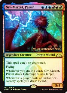 Magic: The Gathering - Niv-Mizzet, Parun - Foil - Prerelease Promo