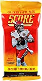 2021 Panini Score Football Jumbo Fat Pack Sealed 40 Card Pack - Look for Trevor Lawrence and Justin Fields Rookie and Autograph Cards + Bonus 2021 Pro Set De... rookie card picture