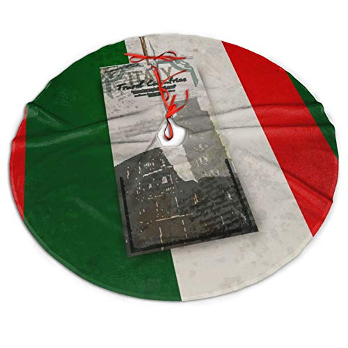 Coliseum In Rome Italy Colosseum Leaning Tower Christmas Tree Skirt Classic Holiday Decorations 30 36 48 Inc,Small Christmas Tree Skirt Blue Gold Red For Party Holiday Decorations Xmas Ornaments