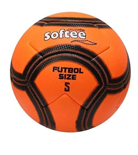 Softee Balón Fútbol Playa Naranja Fluor
