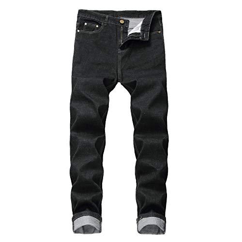 Pantalones Vaqueros para Hombre, Tendencia Informal Suelta Europea y Americana, Pantalones Vaqueros de Talla Grande de Hip-Hop, Pantalones de Hip-Hop, Pantalones de monopatín 42