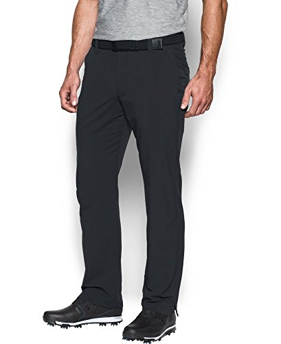 Under Armour Men's Match Play Golf Pants , Black (001)/Black , 34/32
