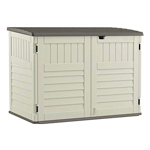 Suncast 5' x 3' Horizontal Stow-Away Storage Shed...
