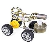 CT-Tribe Motor Stirling, Modelo de Motor Stirling de un Solo Cilindro, Modelo de Motor de Coche Ejecutable, Kit de Ciencia y Juguetes Educativos