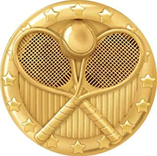 Tennis Pins Gold, Tennis Lapel Pins for Tennis Player Trading Pins