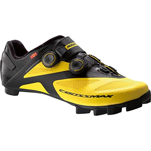 Mavic Crossmax SL Ultimate - Zapatillas - Amarillo/Negro Talla del Calzado UK 9 / EU 43 1/3 2018