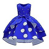 MIRRAY Enfants Enfant Filles Robe sans Manches Princesse Pageant Robe De MariéE...