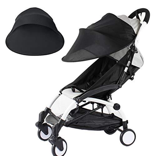 A/A Sonnenschutz für Kinderwagen - Baby Sonnenverdeck für Buggy & Sportwagen|Blockiert bis zu 99% UV UPF50+|Sonnendach und hilft Babys zu schlafen
