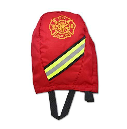 Lightning X Fireman's SCBA Air Pak Respirator Firefighter Mask Face Piece Bag for First Responder - Red