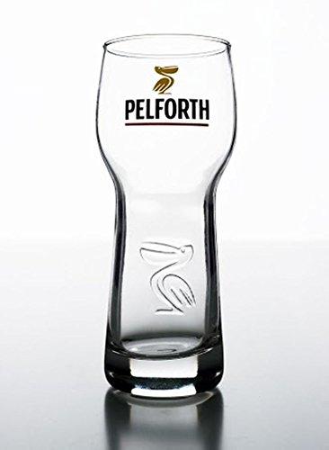 Set di 6 bicchieri da birra, Pelforth da 25 cl