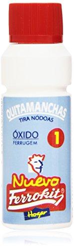 Ferrokit - Quitamanchas Óxido - Eficacia para toda clase de tejidos - 50 ml