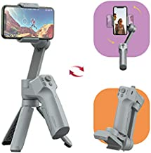 MOZA Mini MX 3-Axis Gimbal Stabilizer for iPhone 12 11 Pro Max X XS Max XR 8plus 7 Smartphone Vlog Youtuber Samsung S20+ Galaxy Note10/10+ S9 Inception Mode Face Object Tracking Slow Motion Time-Lapse
