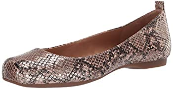 Jessica Simpson womens Mickella Ballet Flat Gold Snake 9.5 US