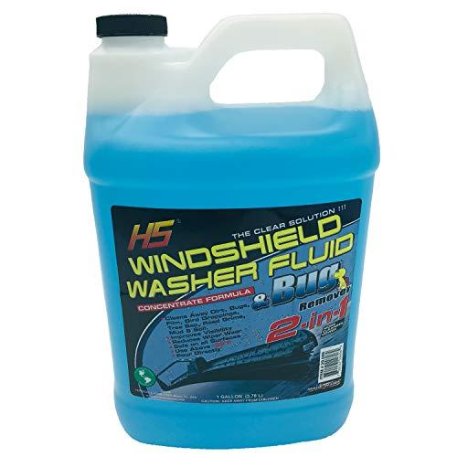 HS 29.606 Bug Wash Windshield Washer Fluid, 1 Gal (3.78 Liters)